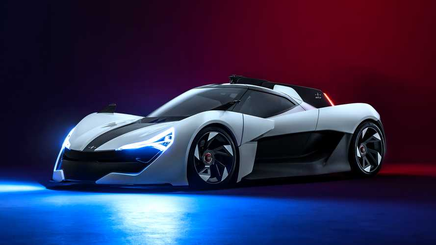 Apex AP-0 Concept: Elektro-Supersportler mit über 650 PS