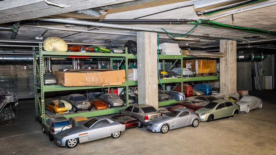 Exclusive video: Inside the forgotten Bertone archives