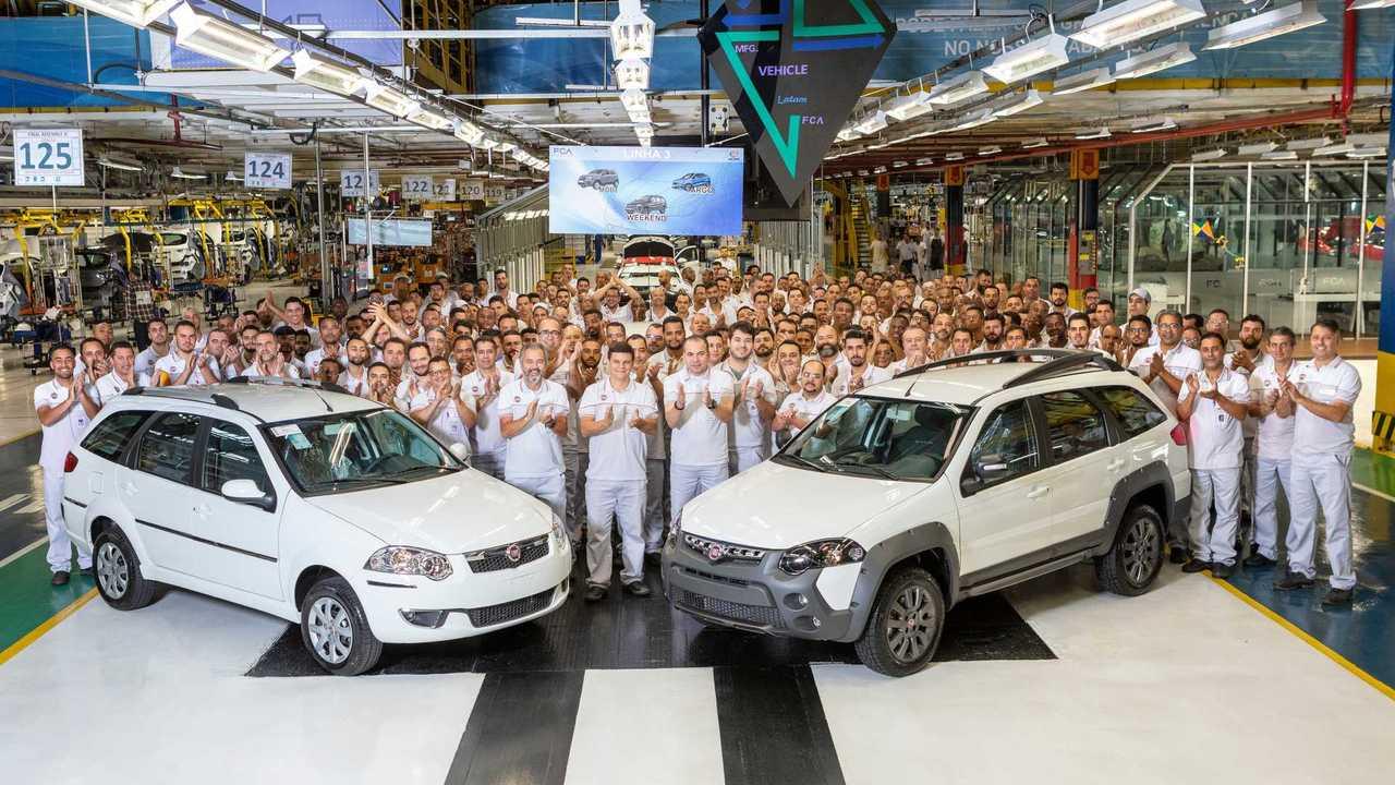Fiat Weekend - Fim da produção