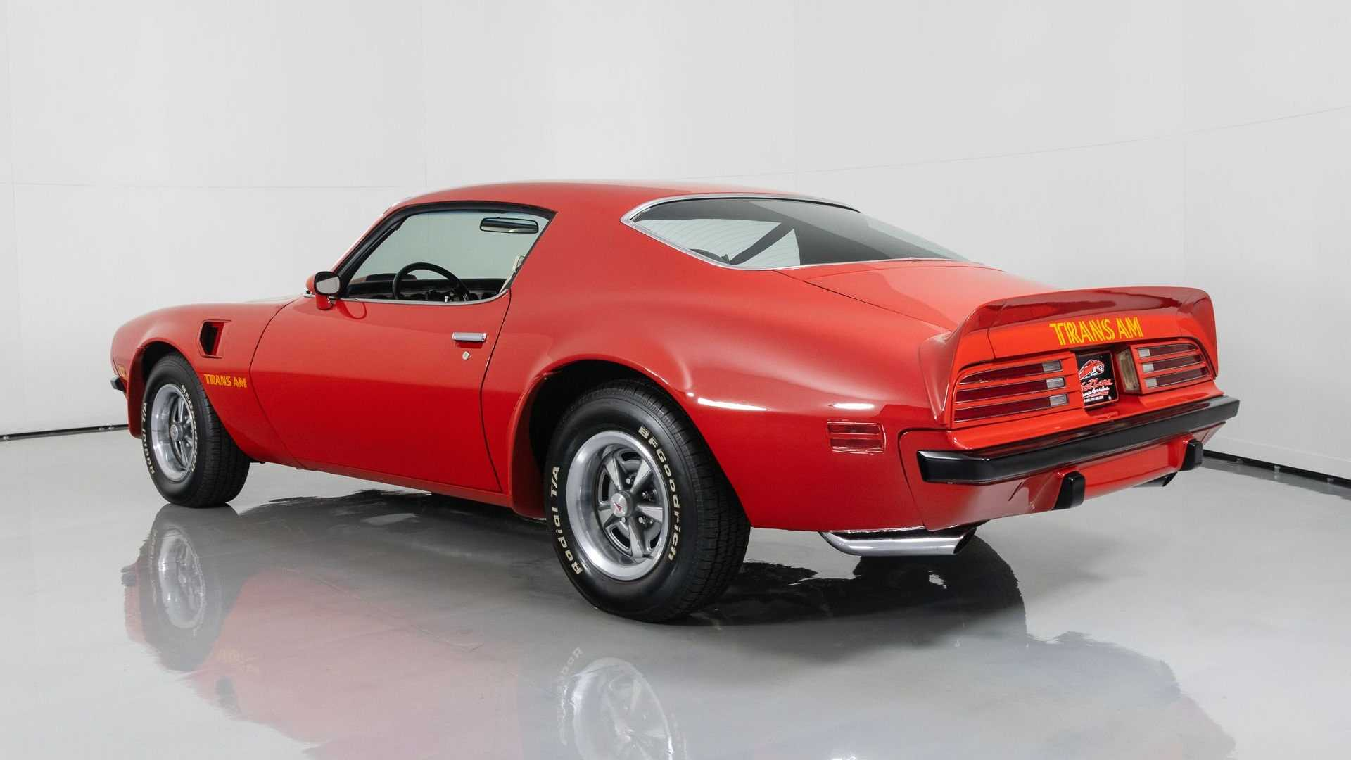 "[""Muscular 1974 Super Duty Trans Am Commands Attention""]"