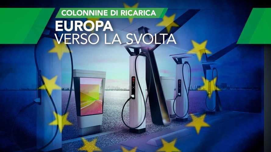 Auto elettriche, la svolta per le colonnine sta arrivando dall'Europa