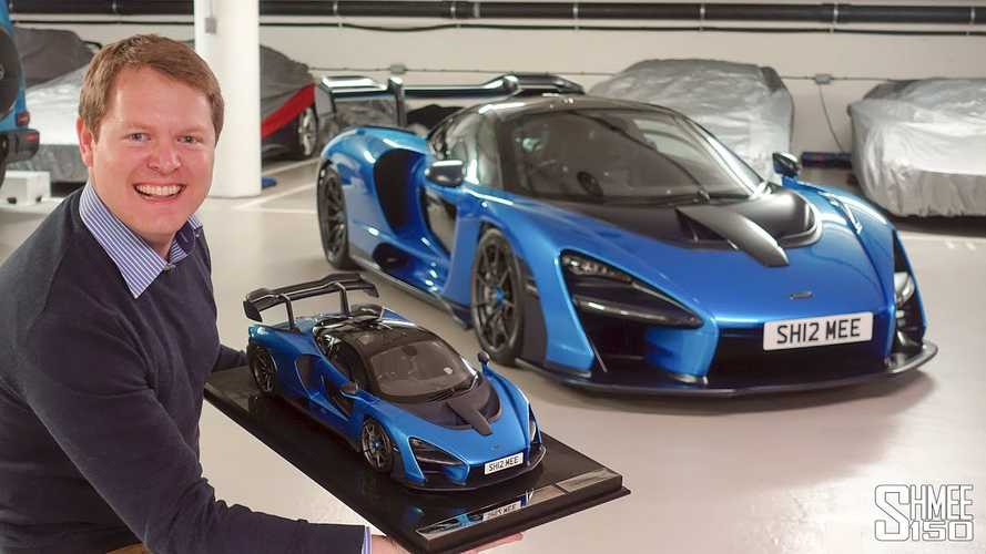 Watch Shmee welcome home his tiny-but-still-exclusive McLaren Senna