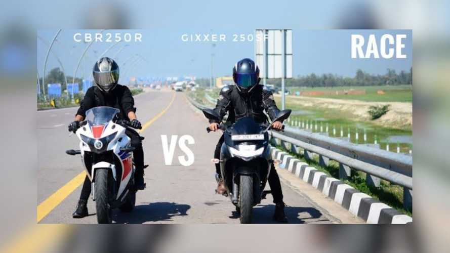 Lightweight Shootout: Suzuki Gixxer SF 250 vs Honda CBR 250R