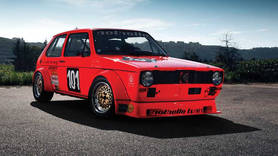 World's First Golf Mk1 Race Car
