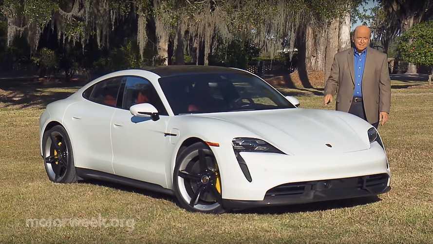 Watch MotorWeek Test Porsche Taycan Turbo S On Track