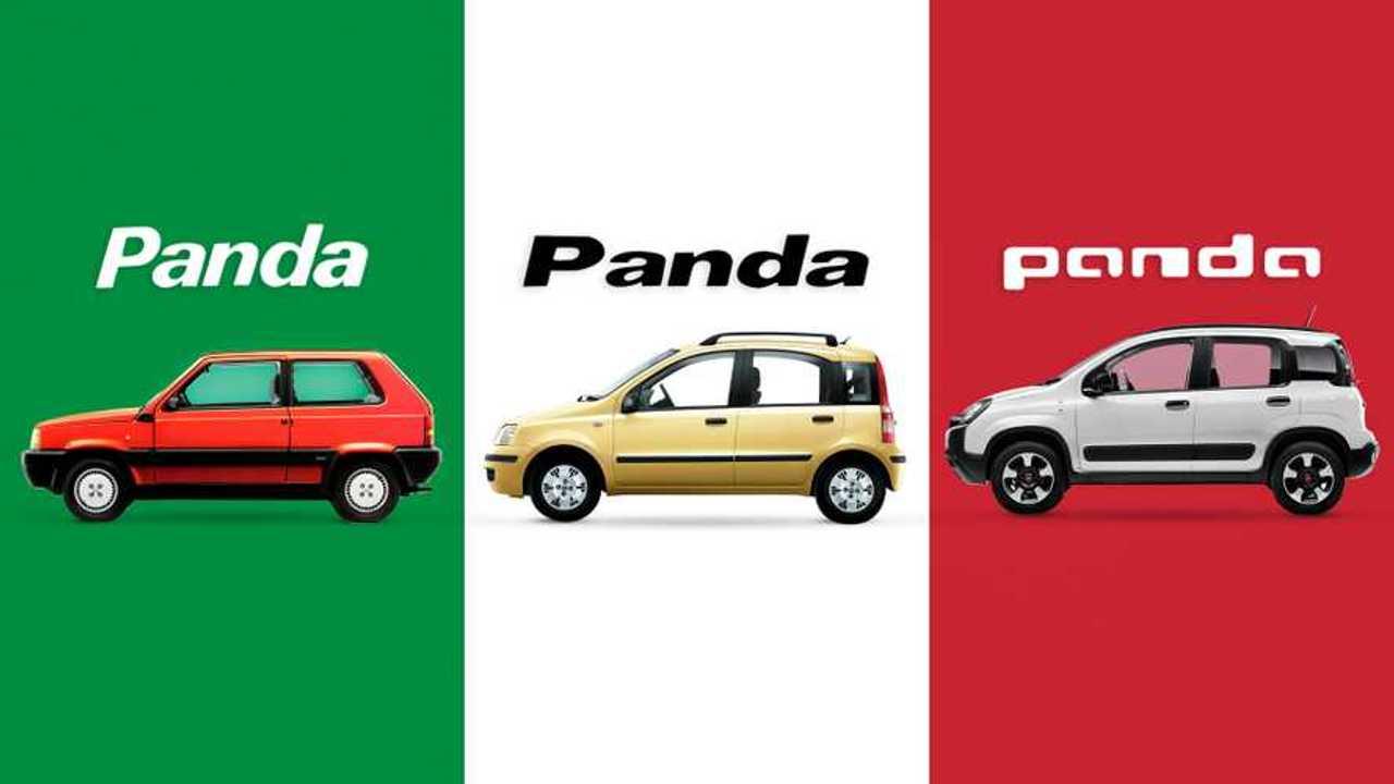 Fiat Panda, 40 anni