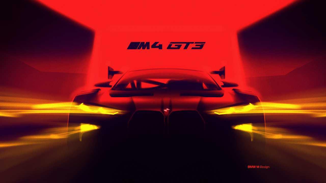 BMW M4 GTE Teaser