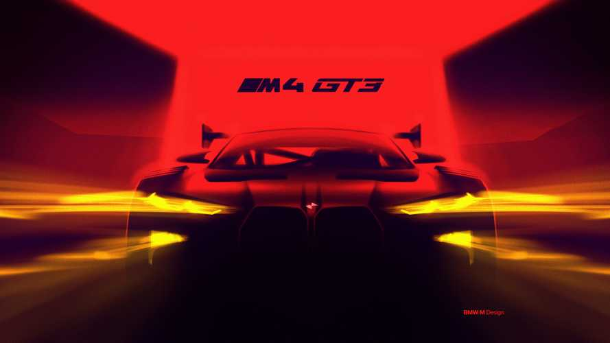 BMW M4 GT3 Teaser Confirms Big Grille, 500 HP For Production Model