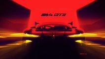 BMW M4 GT3 Teaser zeigt den Riesen-Grill