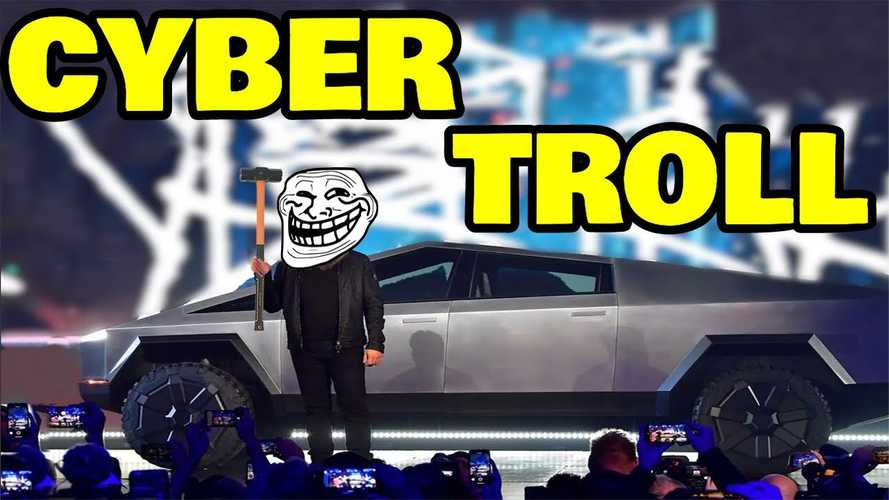 Watch This Hilarious Tesla Cybertruck Presentation From Claimed Troll