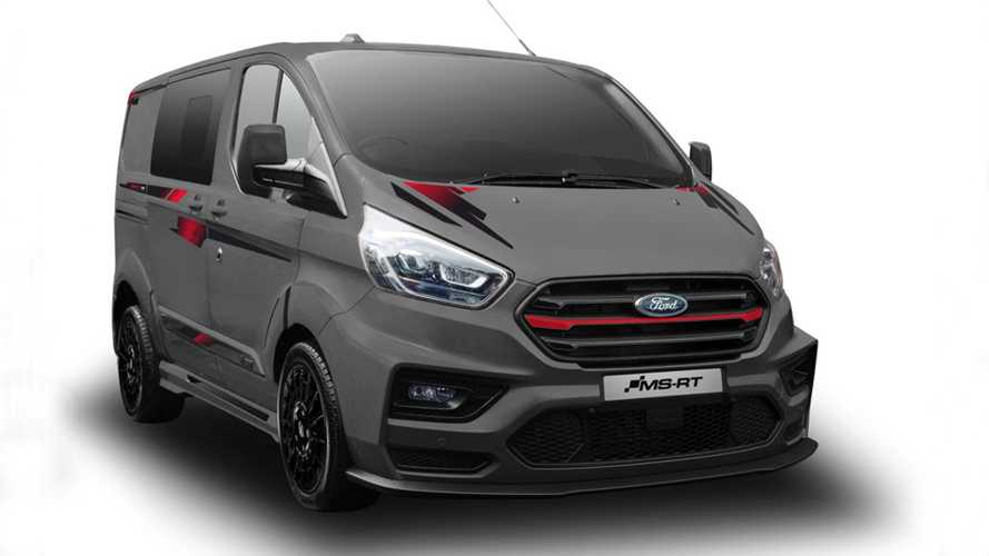 Ford Transit Custom MS-RT R185, limitato e supersportivo