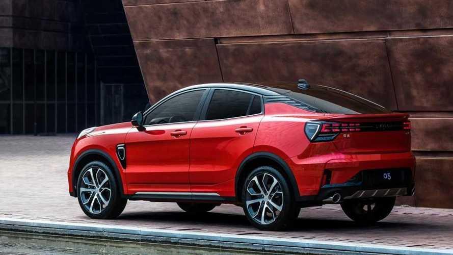 Lynk & Co firması, yeni coupe SUV modelini tanıttı