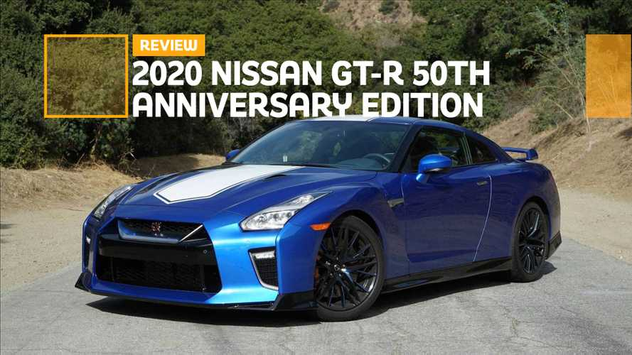 2020 Nissan GT-R 50th Anniversary Review: Godzilla Or Just A Dinosaur?