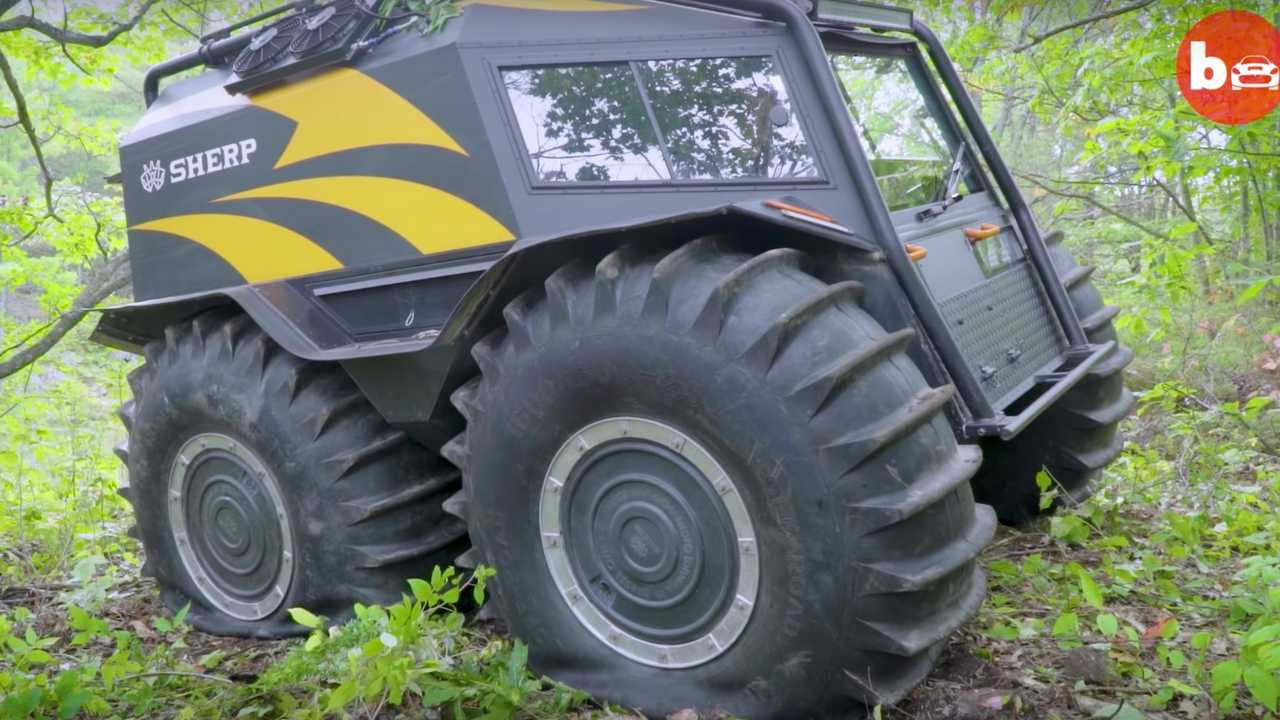 Sherp ATV Is The Ultimate Vehicle To Survive The Zombie Apocalypse