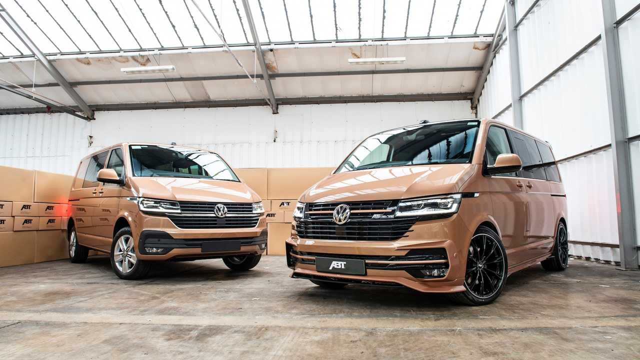 ABT Tries To Make The VW Transporter More Aerodynamic