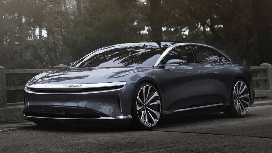 Lucid Air, confermati i 900 Volt ed il via ai test in California