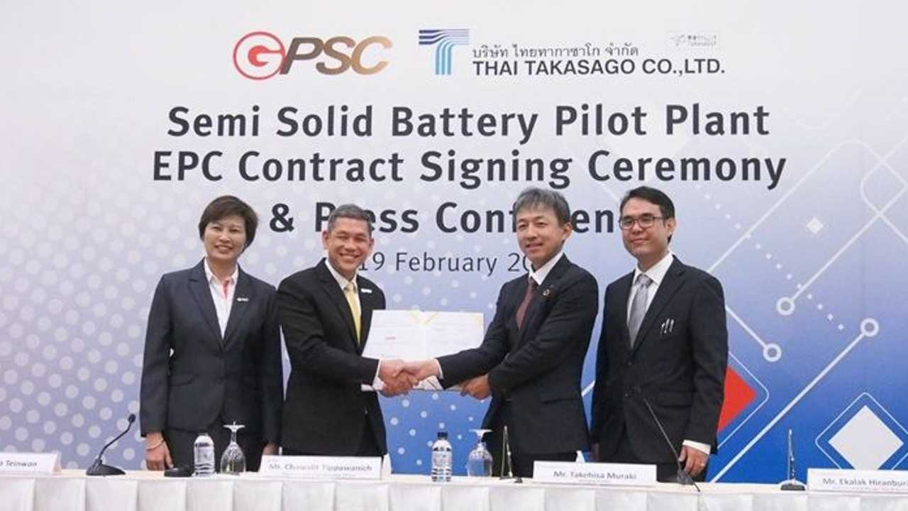 GPSC to Invest $35.2M in the Development of Thailand's First Battery Plant to Use 24M SemiSolid Technology