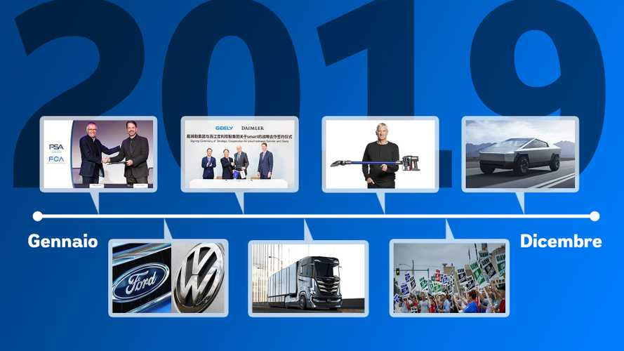 I 10 fatti (+1) che hanno cambiato il mondo dei motori nel 2019