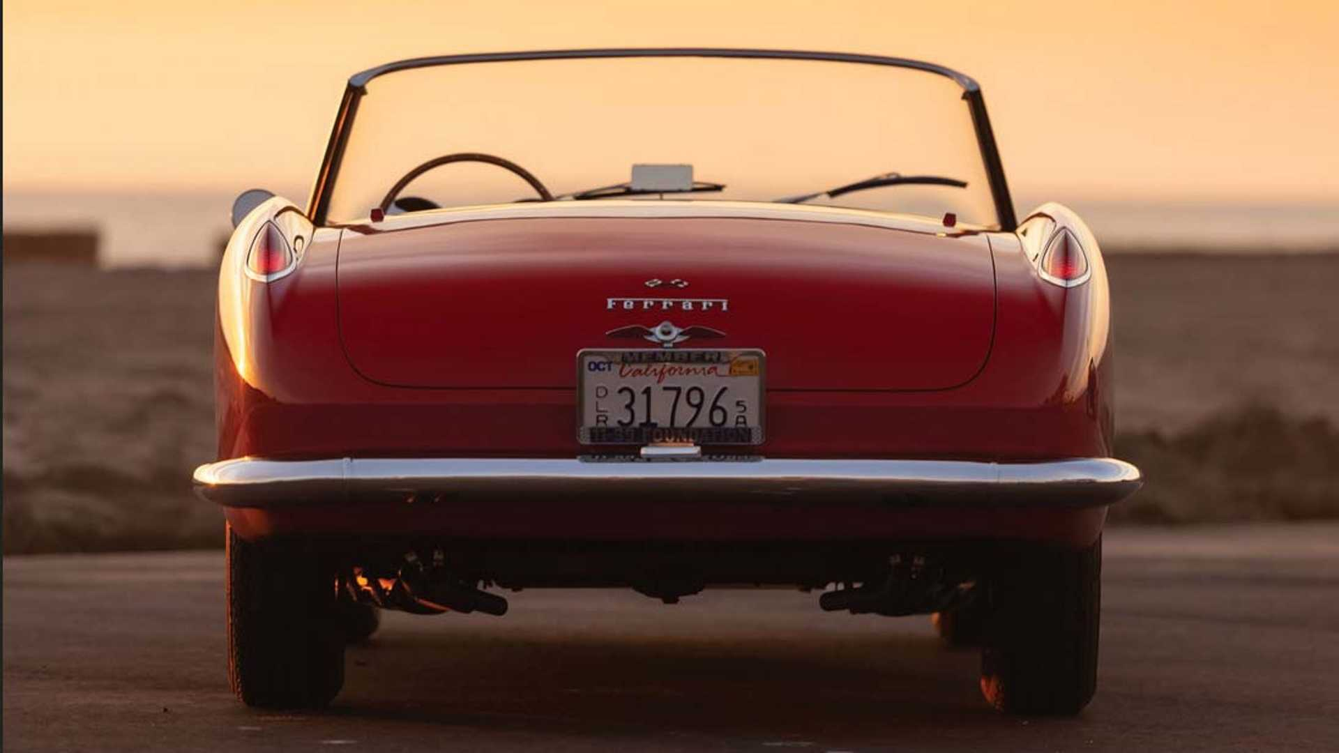 """[""""How High Will Bidding Get For This 1958 Ferrari 250 GT Cabriolet?""""]"""