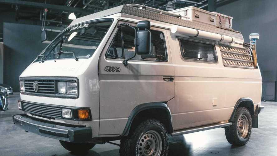 Esta Volkswagen camper se mantiene atractiva a pesar de los años