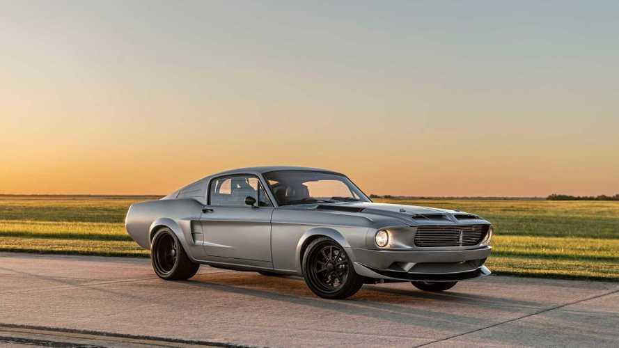 Classic Recreations Debuts Restomod 1968 Ford Mustang 'Villain'