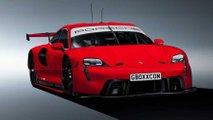Рендеры Porsche Taycan RSR