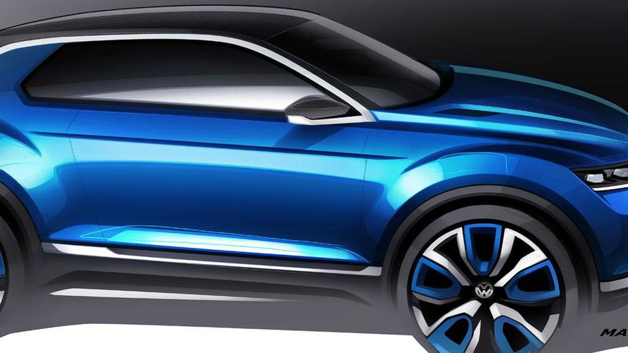 Volkswagen T-ROC concept announced for Geneva
