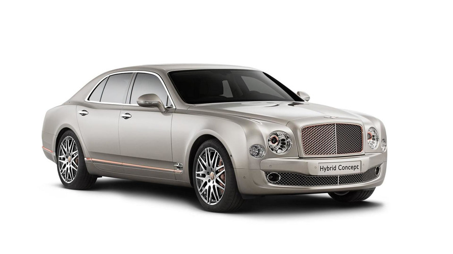 Bentley Hybrid Concept announced, arriving at Beijing Motor Show