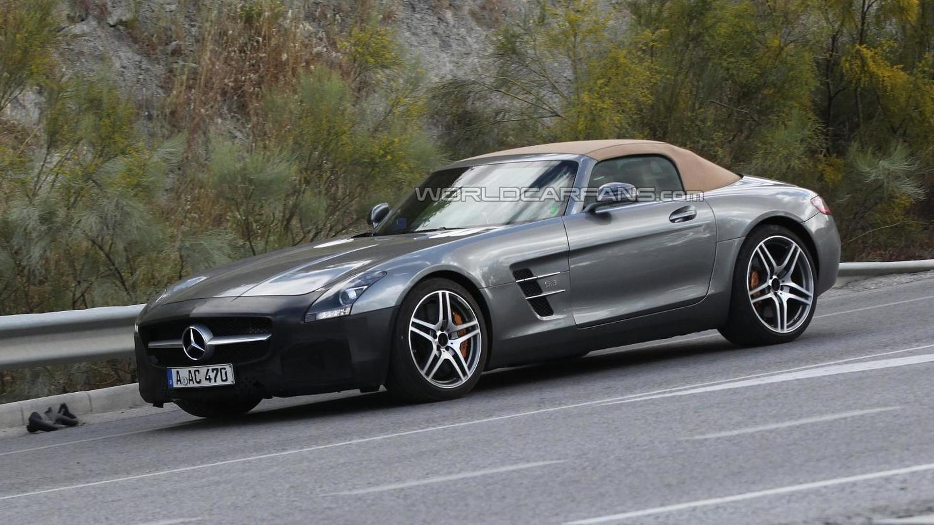 2015 Mercedes Benz Sls Amg Gt Roadster Spied