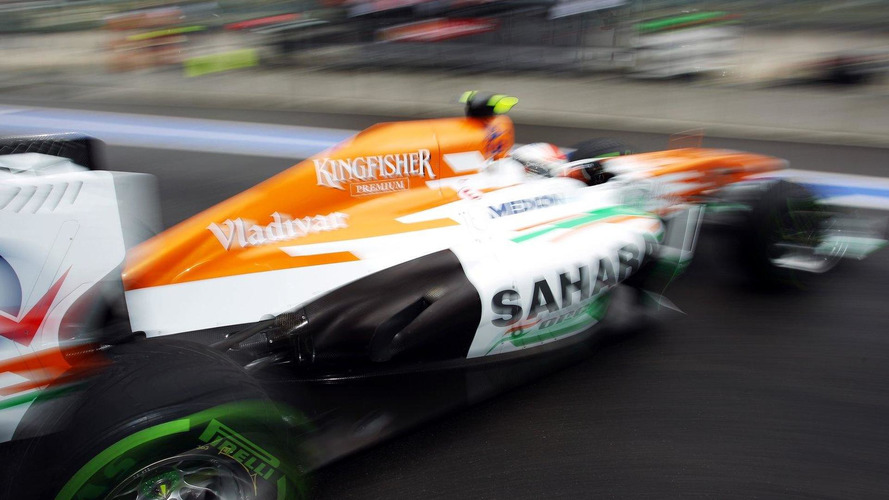 Force India stops developing 2013 car