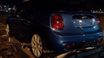 2015 MINI five-door hatchback spy photo