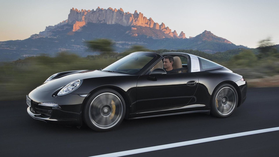 2014 Porsche 911 Targa 4 and Targa 4S officially revealed at NAIAS, pricing announced
