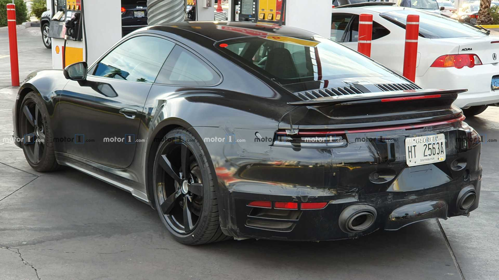 Next Gen Porsche 911 Turbo Spied Gassing And Going Update
