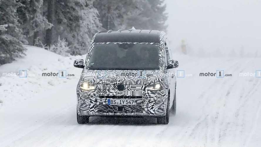 VW Caddy: Neue Erlkönigbilder