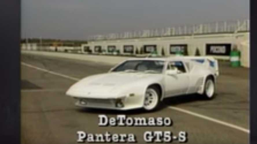 Watch This Retro Review For The 1987 De Tomaso Pantera GT5-S