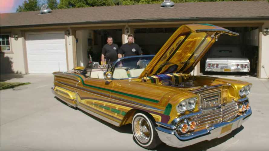 This Chevy Lowrider Is Super Customized
