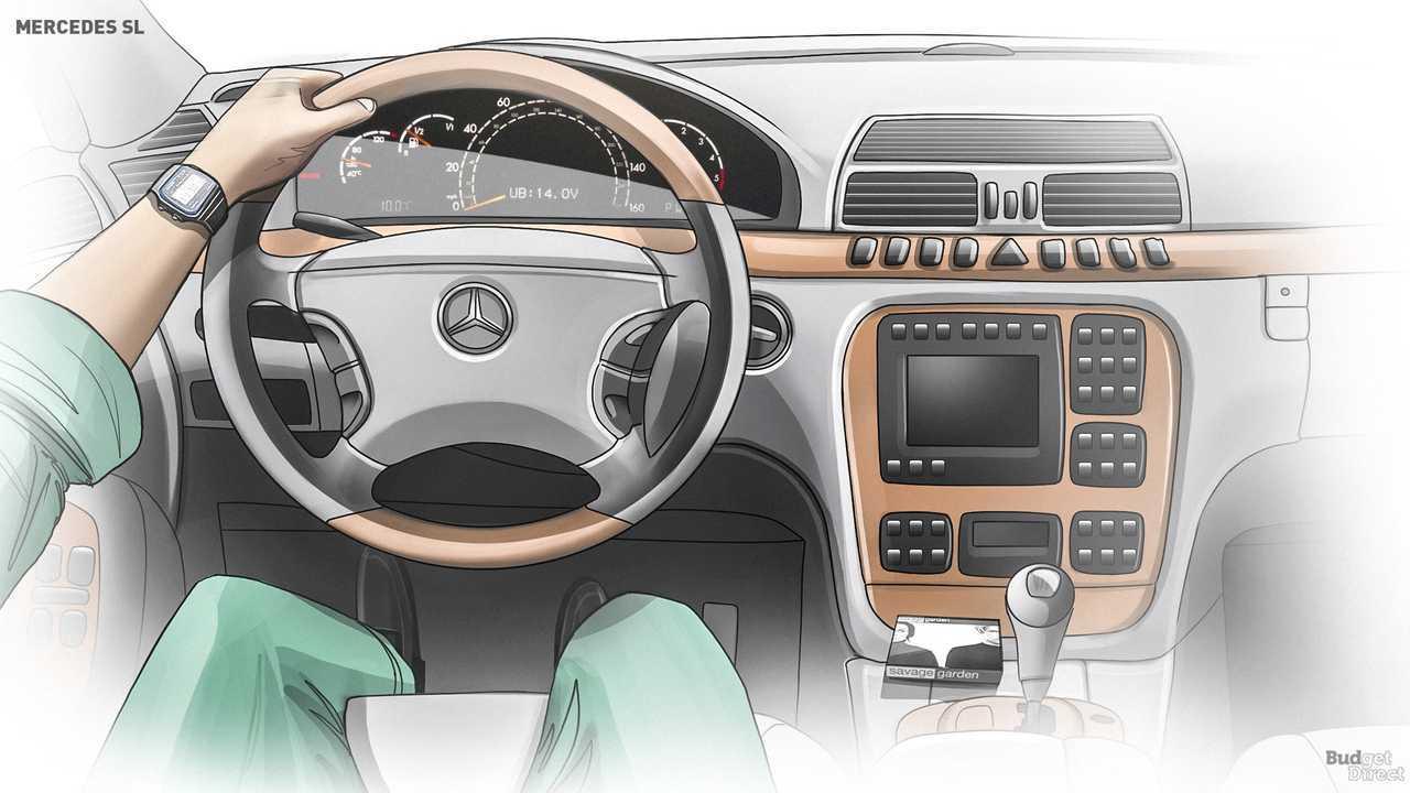 R129 interior 1989-2002