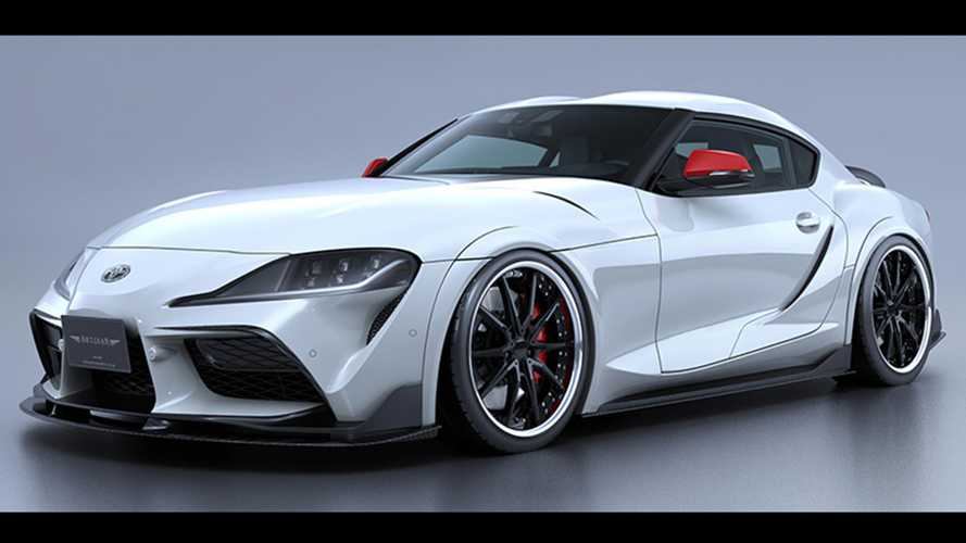 Subtle Toyota Supra body kit joins the growing SEMA lineup