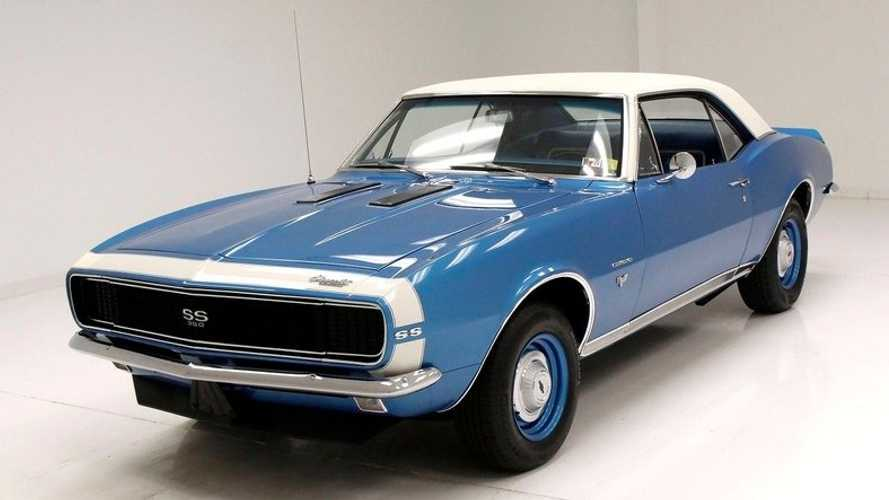 Drive Off In This Immaculately Restored 1967 Chevy Camaro