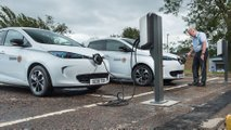 Renault ZOE comes to the aid of the Scottish Fire and Rescue Service
