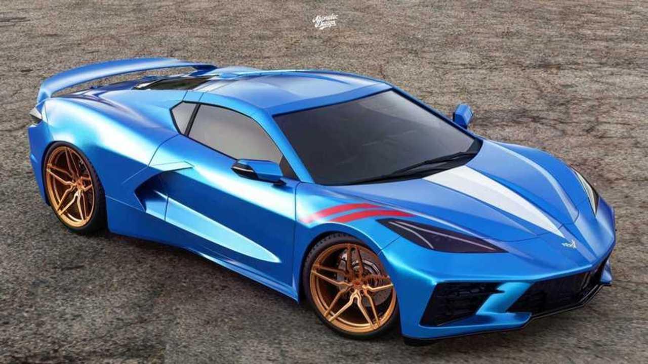 2020 Chevrolet Corvette Grand Sport Fan Rendering