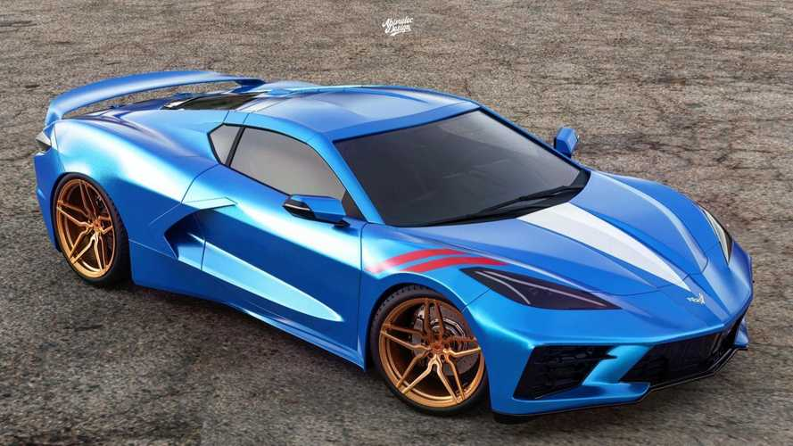 2020 Chevrolet Corvette Grand Sport looks racy in fan rendering