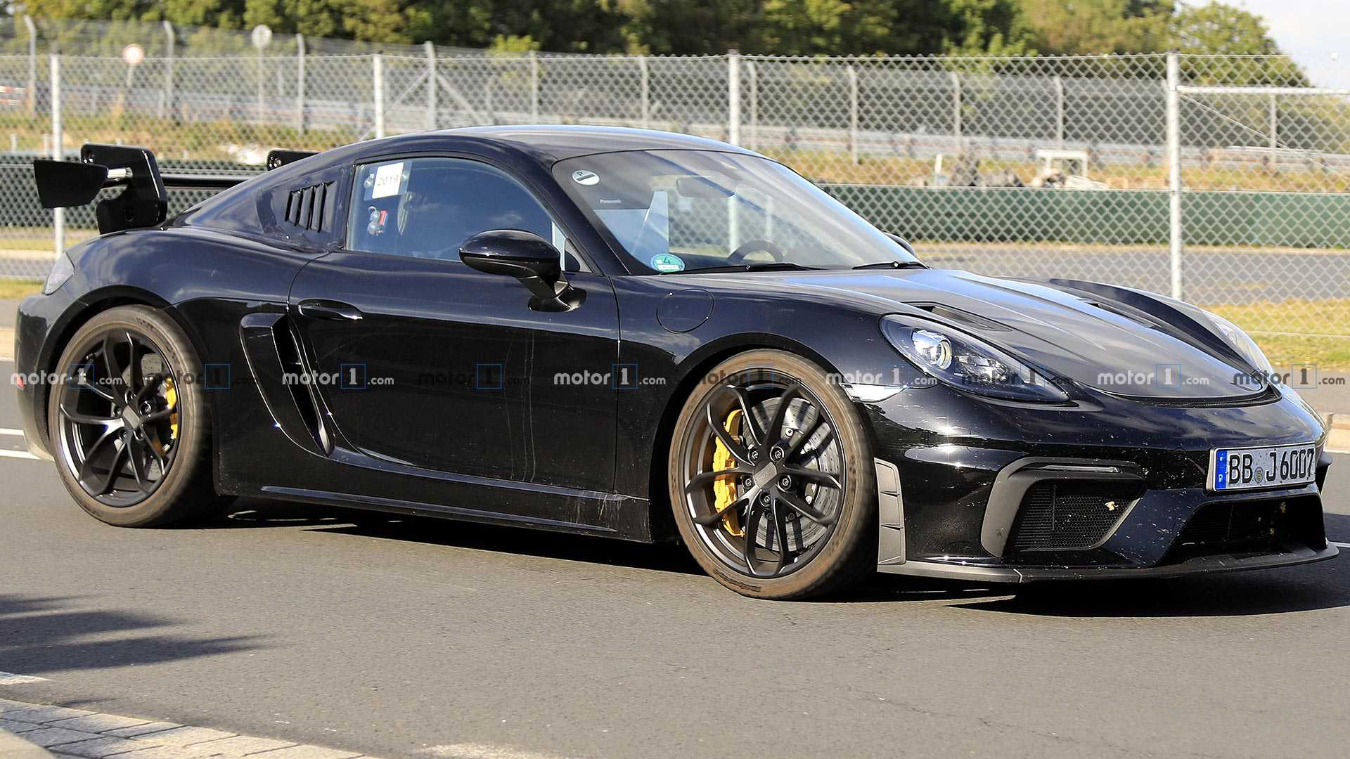 Porsche 718 Cayman GT4 RS Spied Looking Lean And Mean