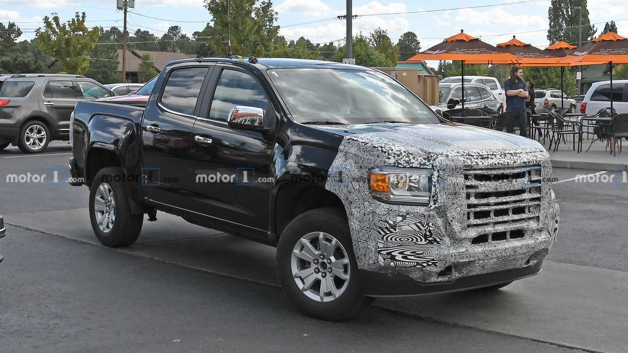 Updated Chevy Colorado, GMC Canyon Spied For The First Time