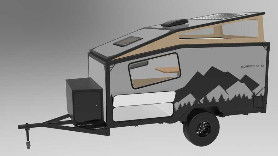 New XT12 Camper Trailer Is Biggest Yet For Into The Wild Overlands
