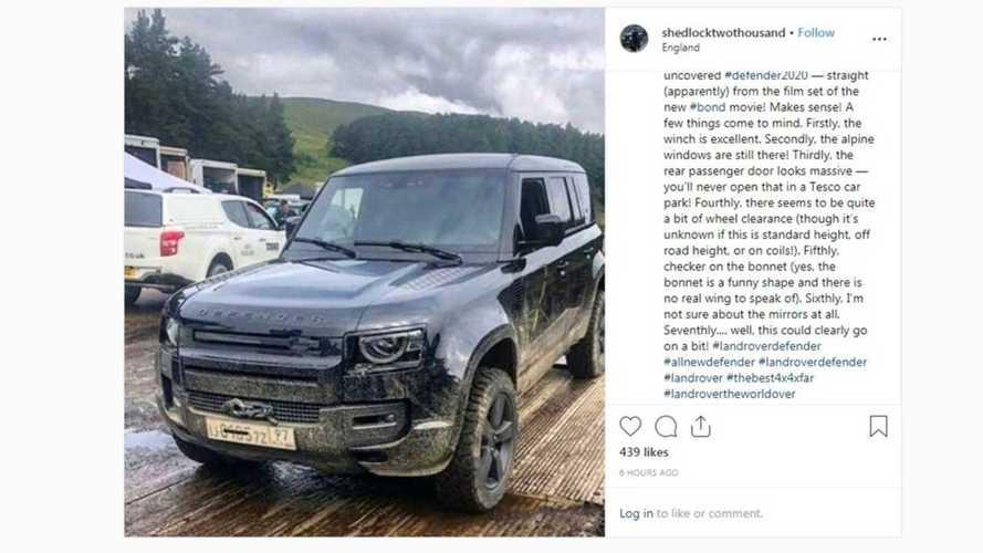 Neuer Land Rover Defender (2020) ohne Tarnung