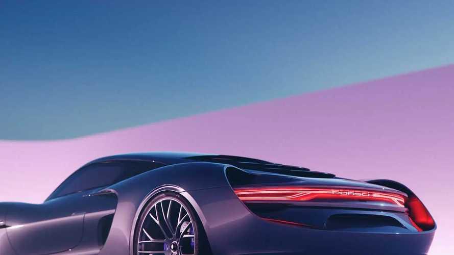 Porsche 988 Vision concept render