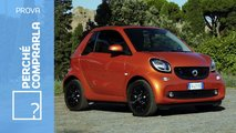 smart eq fortwo elettrica prova video