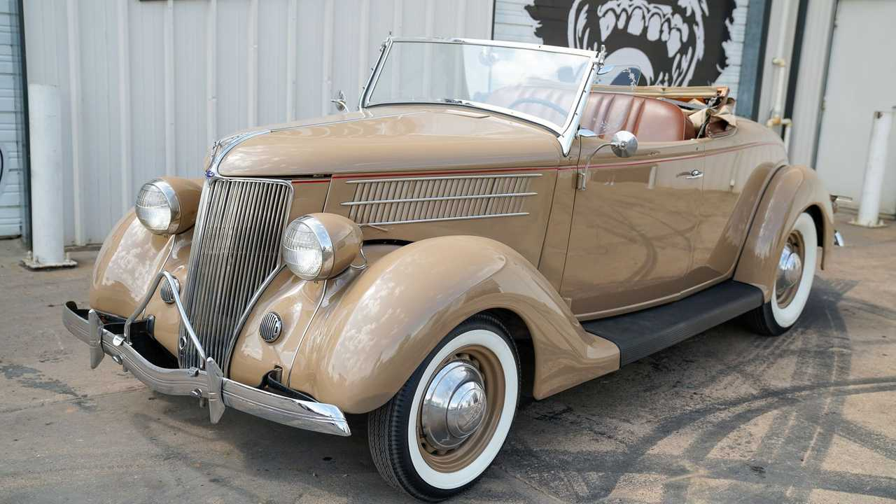 Well-Preserved 1936 Ford Rumble Seat Roadster Up For Sale