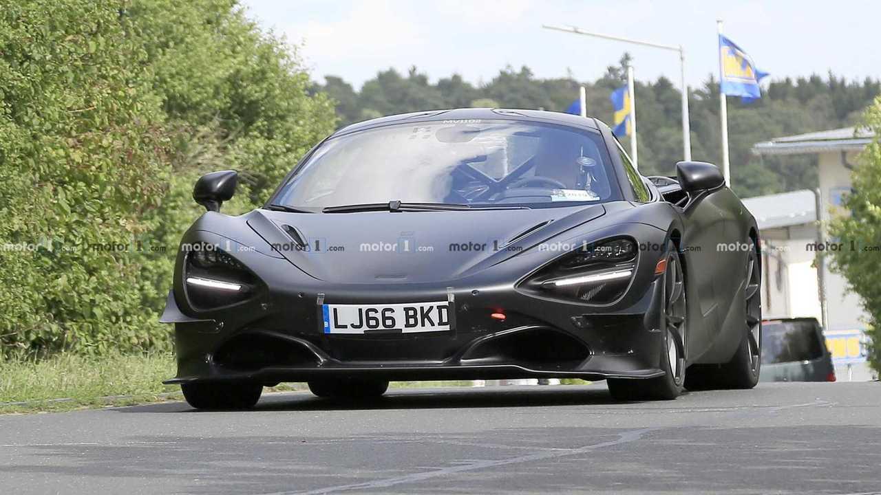 McLaren 750LT casus fotoğraf